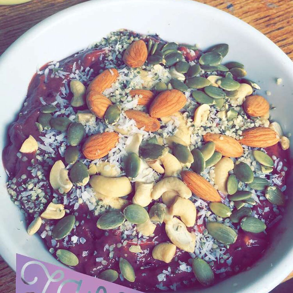 """Photo of Trilogy Sanctuary  by <a href=""""/members/profile/Sallyisme05"""">Sallyisme05</a> <br/>Protein Acai Bowl <br/> March 20, 2017  - <a href='/contact/abuse/image/50264/238733'>Report</a>"""