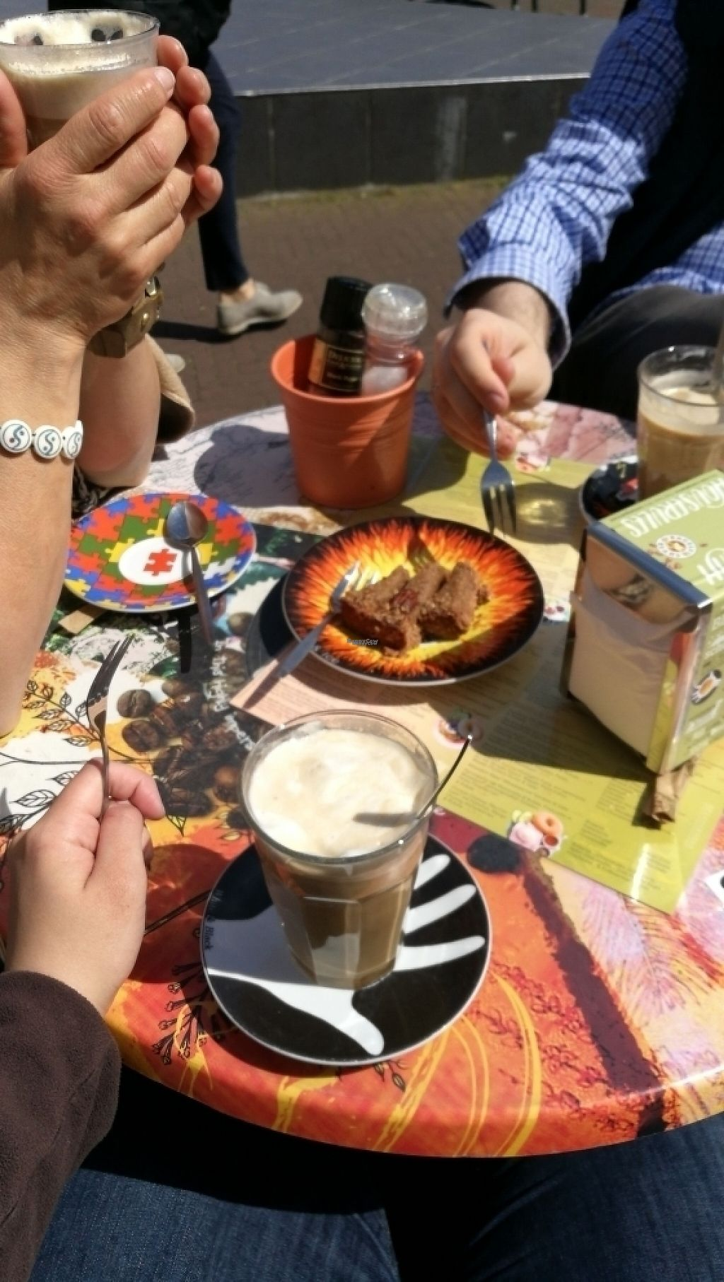 """Photo of Bagels & Beans - Piet Heinplein  by <a href=""""/members/profile/kaunispeto"""">kaunispeto</a> <br/>soy latte  <br/> April 30, 2017  - <a href='/contact/abuse/image/50267/254152'>Report</a>"""