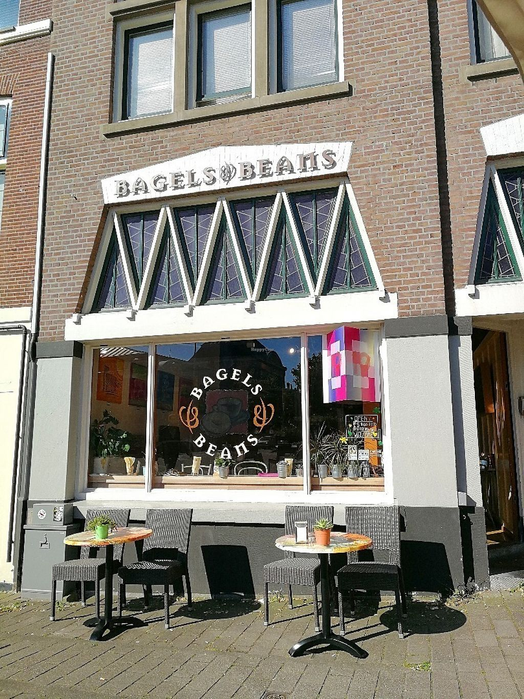 """Photo of Bagels & Beans - Piet Heinplein  by <a href=""""/members/profile/Gudrun"""">Gudrun</a> <br/>Bagels and Beans <br/> May 30, 2017  - <a href='/contact/abuse/image/50267/264241'>Report</a>"""