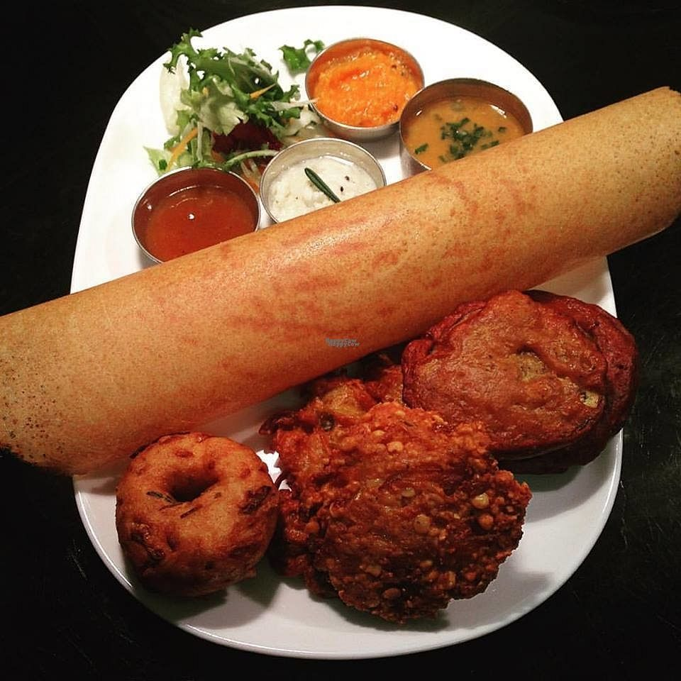 """Photo of Kerala Restaurant  by <a href=""""/members/profile/Meaks"""">Meaks</a> <br/>Vegan Snack Tray <br/> September 3, 2016  - <a href='/contact/abuse/image/50290/173232'>Report</a>"""