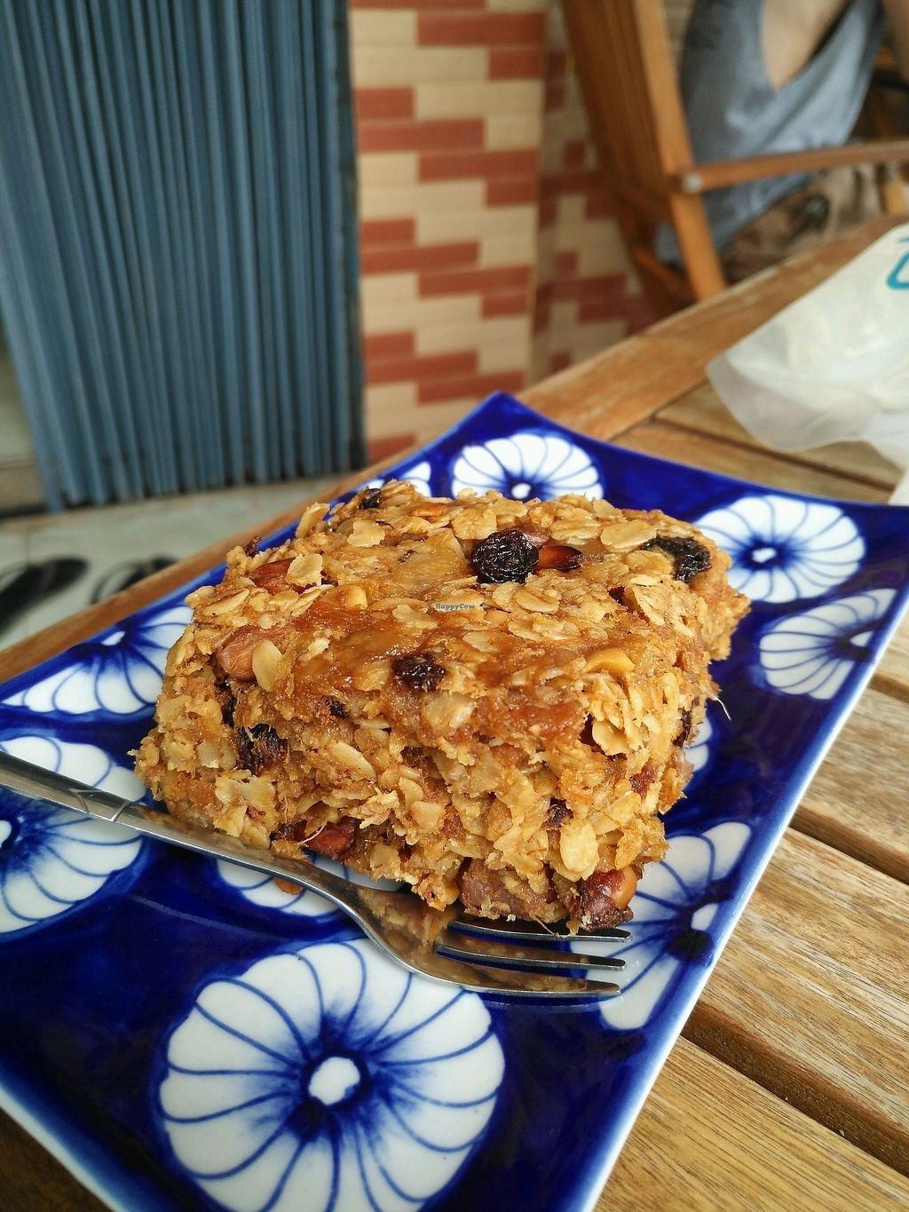 "Photo of Epic Arts Cafe  by <a href=""/members/profile/JulienR"">JulienR</a> <br/>Vegan flapjack <br/> January 24, 2018  - <a href='/contact/abuse/image/50298/350314'>Report</a>"