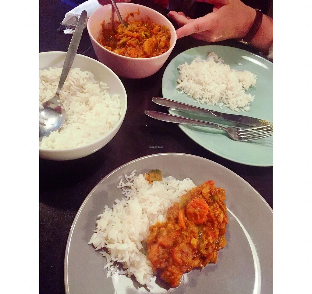 """Photo of Nirvana Cafe  by <a href=""""/members/profile/Hannahg"""">Hannahg</a> <br/>Mixed veggie curry <br/> October 28, 2017  - <a href='/contact/abuse/image/50299/319458'>Report</a>"""