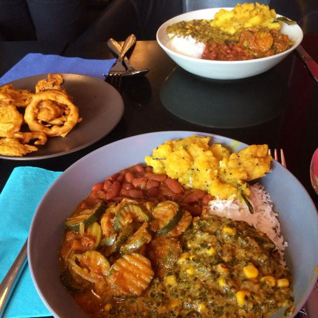 """Photo of Nirvana Cafe  by <a href=""""/members/profile/Joshilib"""">Joshilib</a> <br/>unlimited lunch buffet <br/> August 23, 2014  - <a href='/contact/abuse/image/50299/77950'>Report</a>"""