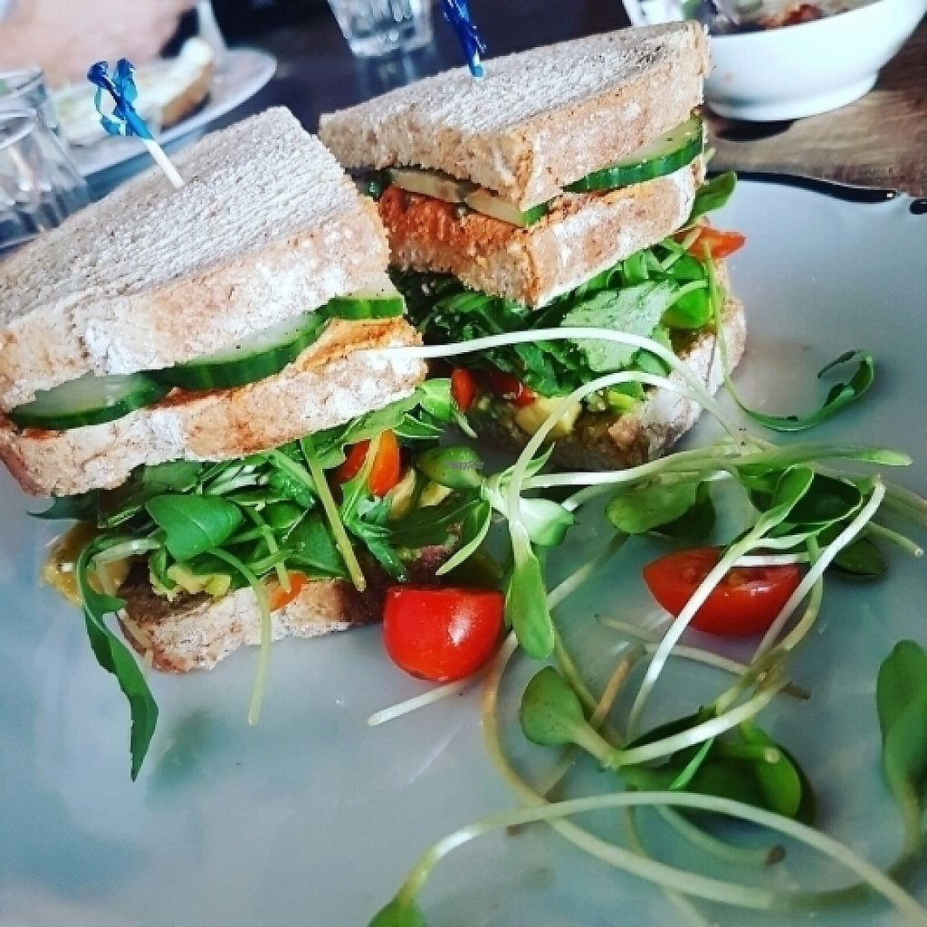 "Photo of Lafew Teahouse and Kombucha Bar   by <a href=""/members/profile/Catwentvegan"">Catwentvegan</a> <br/>Vegan club sandwich <br/> March 19, 2017  - <a href='/contact/abuse/image/50302/238188'>Report</a>"