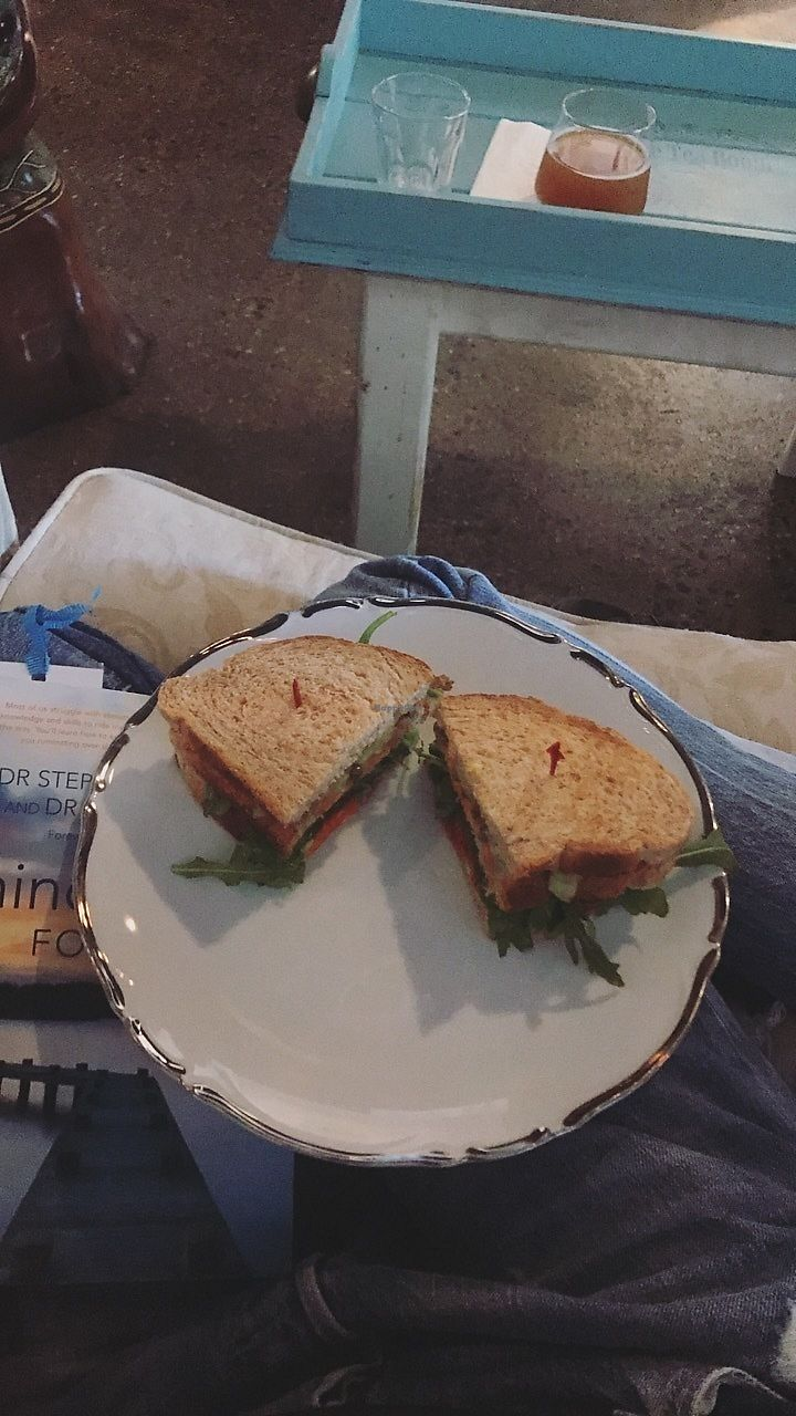 "Photo of Lafew Teahouse and Kombucha Bar   by <a href=""/members/profile/IndreArbataityte"">IndreArbataityte</a> <br/>Vegan club sandwich  <br/> August 11, 2017  - <a href='/contact/abuse/image/50302/291387'>Report</a>"