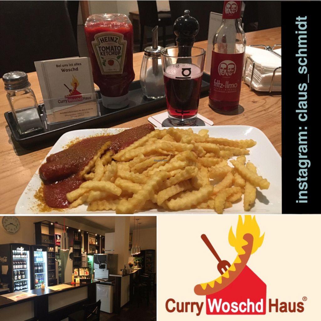 "Photo of CurryWoschdHaus  by <a href=""/members/profile/ClausSchmidt"">ClausSchmidt</a> <br/>Vegane CurryWoschd, nicht gerade Gesund aber geschmacklich 'okay' <br/> March 21, 2016  - <a href='/contact/abuse/image/50322/140830'>Report</a>"
