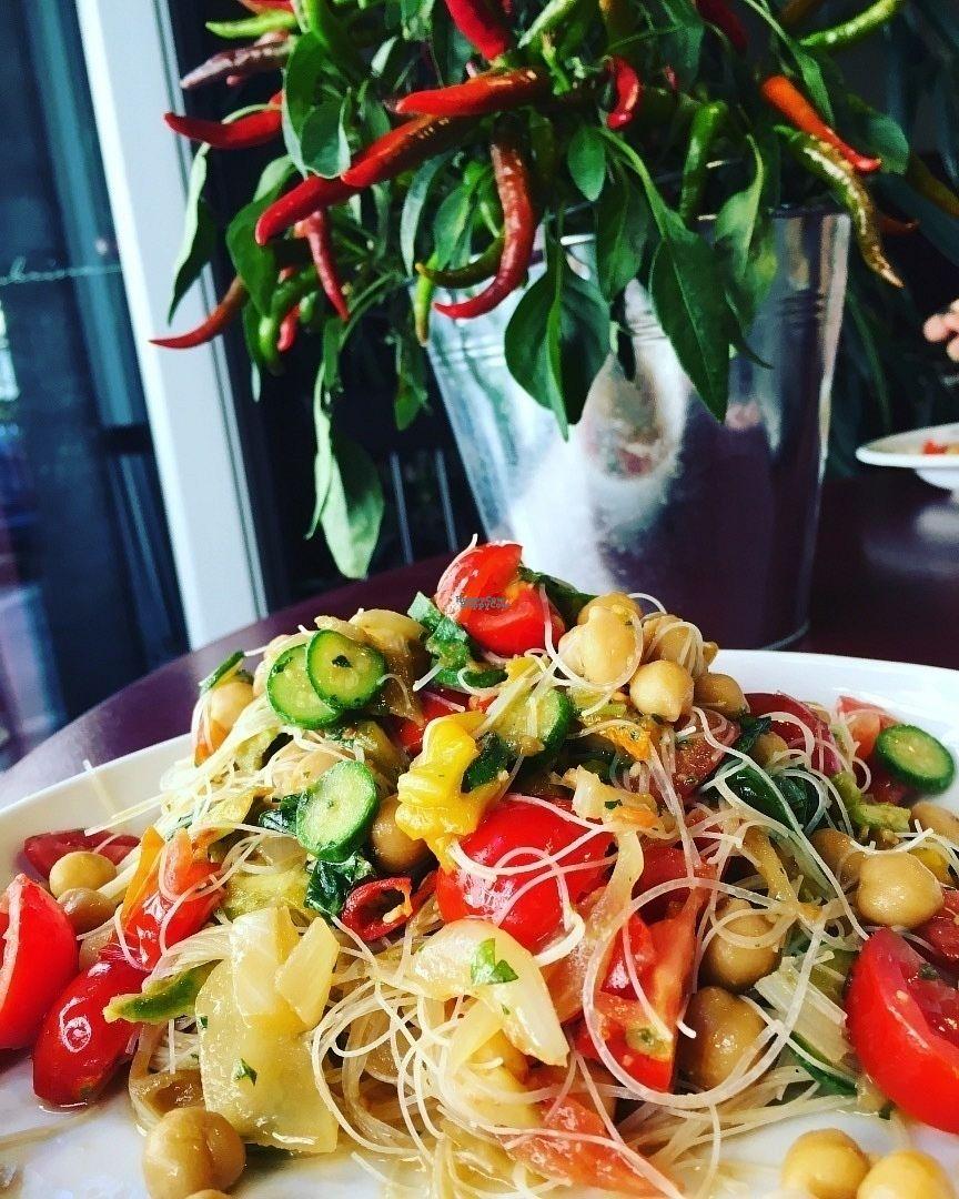 """Photo of La Colubrina  by <a href=""""/members/profile/ConsueloGiovanetti"""">ConsueloGiovanetti</a> <br/>Spaghetti di riso con verdure  <br/> September 8, 2016  - <a href='/contact/abuse/image/50323/174261'>Report</a>"""