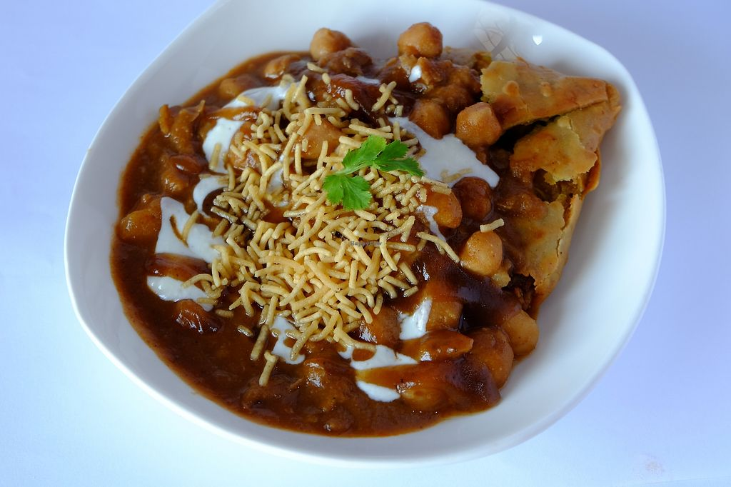 "Photo of Little India Healthy Cuisine  by <a href=""/members/profile/rajkumarpd"">rajkumarpd</a> <br/>Samosa Chat <br/> February 27, 2018  - <a href='/contact/abuse/image/50329/364404'>Report</a>"