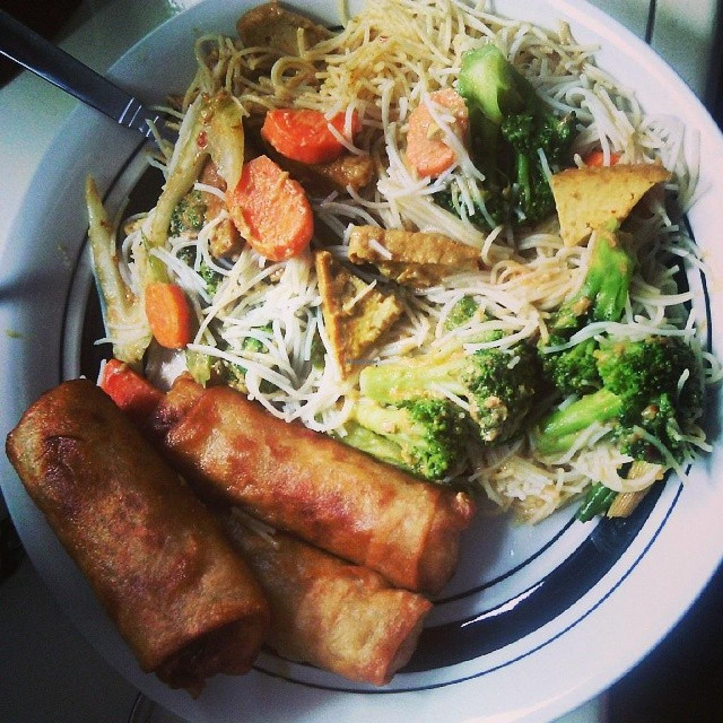 """Photo of Just Spring Roll  by <a href=""""/members/profile/QuothTheRaven"""">QuothTheRaven</a> <br/>Vegan meal <br/> August 14, 2014  - <a href='/contact/abuse/image/50336/76937'>Report</a>"""