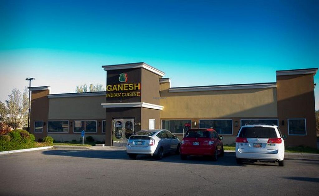 """Photo of Ganesh Indian Cuisine  by <a href=""""/members/profile/Meggie%20and%20Ben"""">Meggie and Ben</a> <br/>Front <br/> August 15, 2014  - <a href='/contact/abuse/image/50342/77119'>Report</a>"""