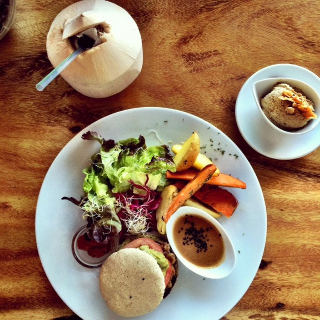 """Photo of Wild Beets  by <a href=""""/members/profile/photoagency"""">photoagency</a> <br/>Veggie burger DELUXE <br/> May 15, 2015  - <a href='/contact/abuse/image/50355/102316'>Report</a>"""