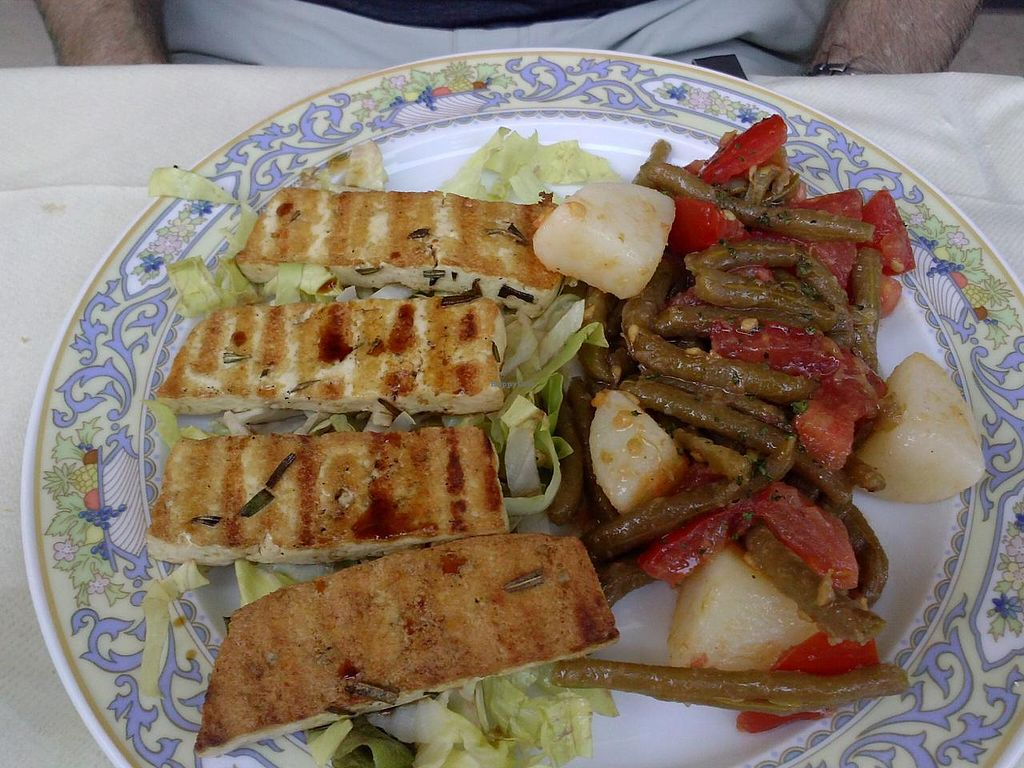 """Photo of Bio Sound System  by <a href=""""/members/profile/Sonja%20and%20Dirk"""">Sonja and Dirk</a> <br/>grilled tofu <br/> July 14, 2015  - <a href='/contact/abuse/image/50371/109372'>Report</a>"""