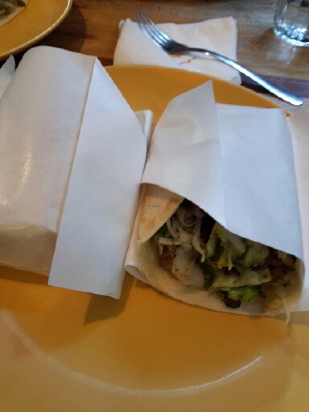 """Photo of Dos Tacos - Gangnam  by <a href=""""/members/profile/KleinBiket"""">KleinBiket</a> <br/>burrito <br/> October 10, 2015  - <a href='/contact/abuse/image/50380/120937'>Report</a>"""