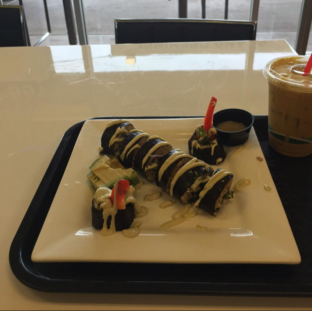 "Photo of Baagan  by <a href=""/members/profile/Chris%20Olinger"">Chris Olinger</a> <br/>great vegan sushi! <br/> April 21, 2015  - <a href='/contact/abuse/image/50384/99892'>Report</a>"