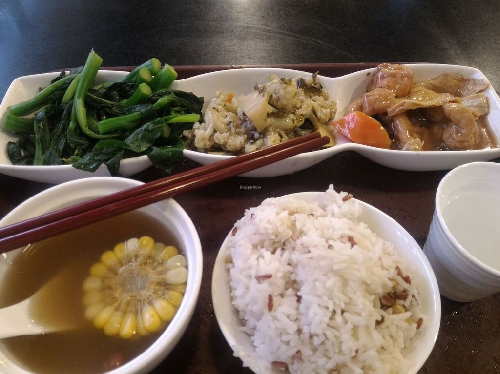 """Photo of Liza Veggies - Wan Chai  by <a href=""""/members/profile/ouikouik"""">ouikouik</a> <br/>$45 weekday set lunch <br/> August 28, 2015  - <a href='/contact/abuse/image/50392/115482'>Report</a>"""