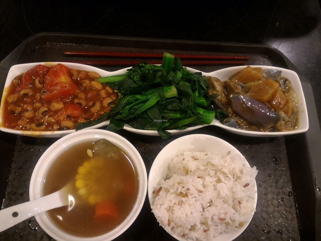 """Photo of Liza Veggies - Wan Chai  by <a href=""""/members/profile/ouikouik"""">ouikouik</a> <br/>hkd45 lunch set <br/> October 9, 2015  - <a href='/contact/abuse/image/50392/120671'>Report</a>"""