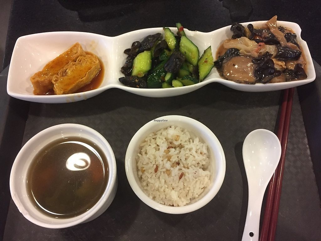 """Photo of Liza Veggies - Wan Chai  by <a href=""""/members/profile/Ashni"""">Ashni</a> <br/>Great value set lunch (1) <br/> June 4, 2017  - <a href='/contact/abuse/image/50392/265579'>Report</a>"""