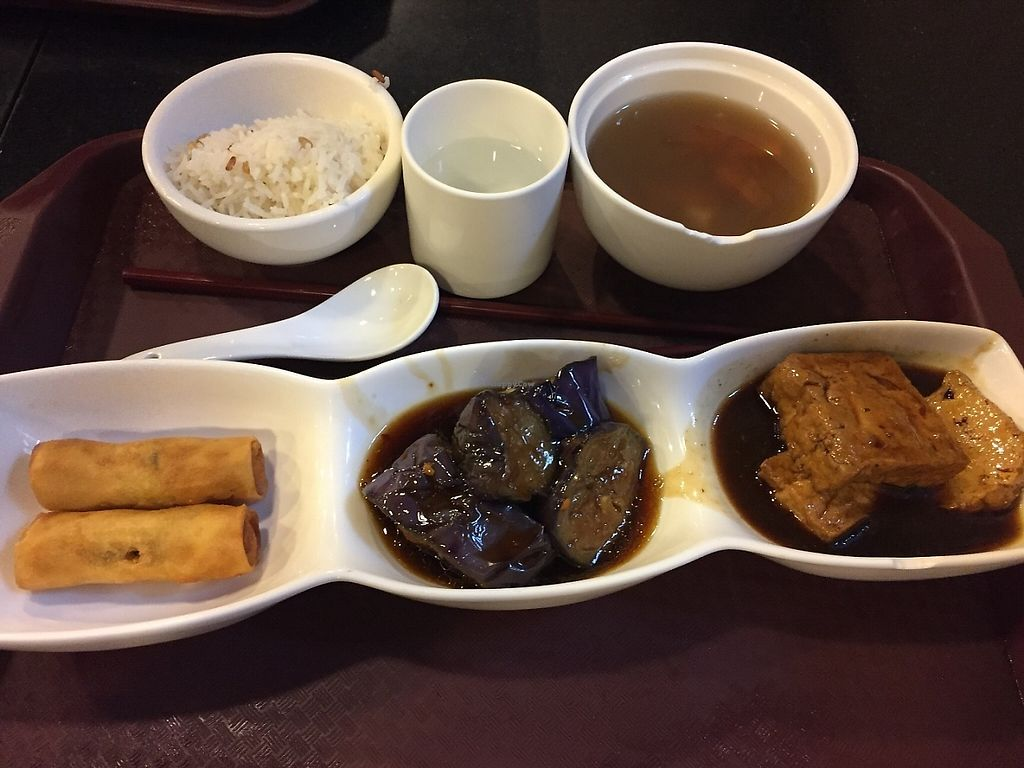 """Photo of Liza Veggies - Wan Chai  by <a href=""""/members/profile/Ashni"""">Ashni</a> <br/>Great value set lunch (2) <br/> June 4, 2017  - <a href='/contact/abuse/image/50392/265580'>Report</a>"""