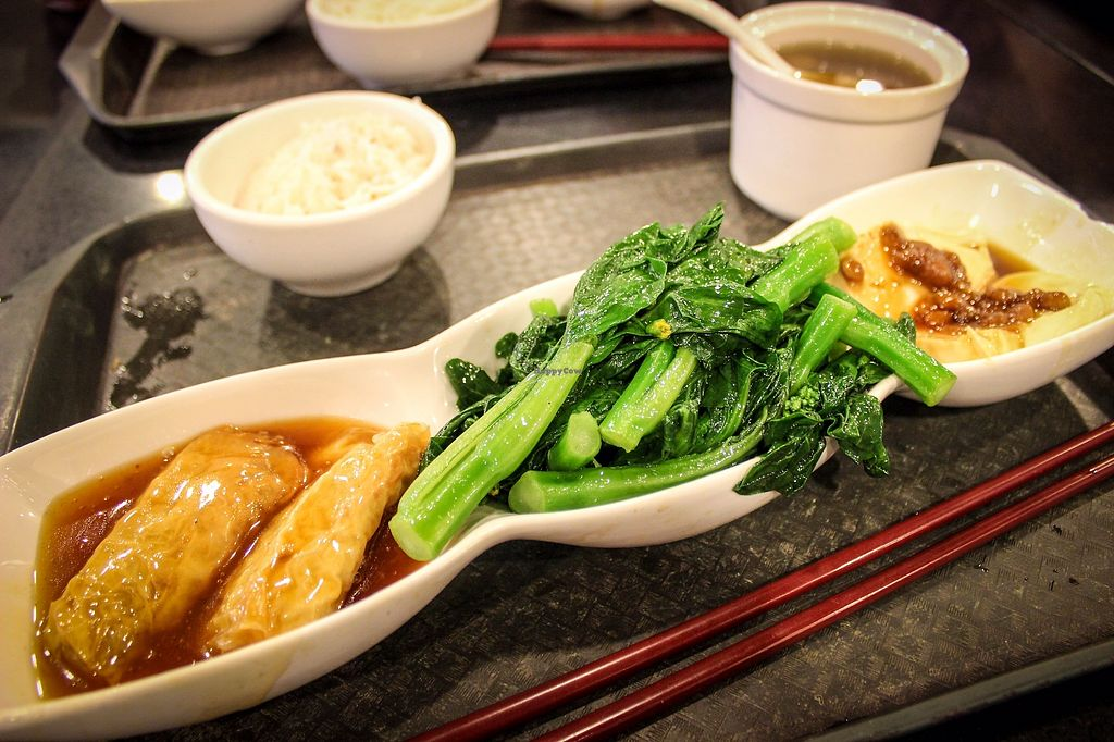 """Photo of Liza Veggies - Wan Chai  by <a href=""""/members/profile/SueClesh"""">SueClesh</a> <br/>lunch set <br/> October 30, 2017  - <a href='/contact/abuse/image/50392/320002'>Report</a>"""
