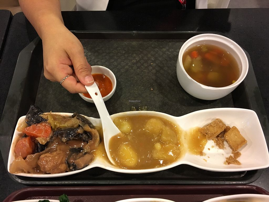 """Photo of Liza Veggies - Wan Chai  by <a href=""""/members/profile/BlueDoraemon"""">BlueDoraemon</a> <br/>Items 1-6, choose any 3. So, for 2 pax, we chose 1-3, 4-6. :) HKD48 ea <br/> November 15, 2017  - <a href='/contact/abuse/image/50392/325885'>Report</a>"""