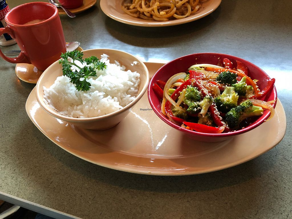 """Photo of Spin Cafe  by <a href=""""/members/profile/Levi"""">Levi</a> <br/>Vegan sesame bowl <br/> November 27, 2017  - <a href='/contact/abuse/image/50410/329777'>Report</a>"""