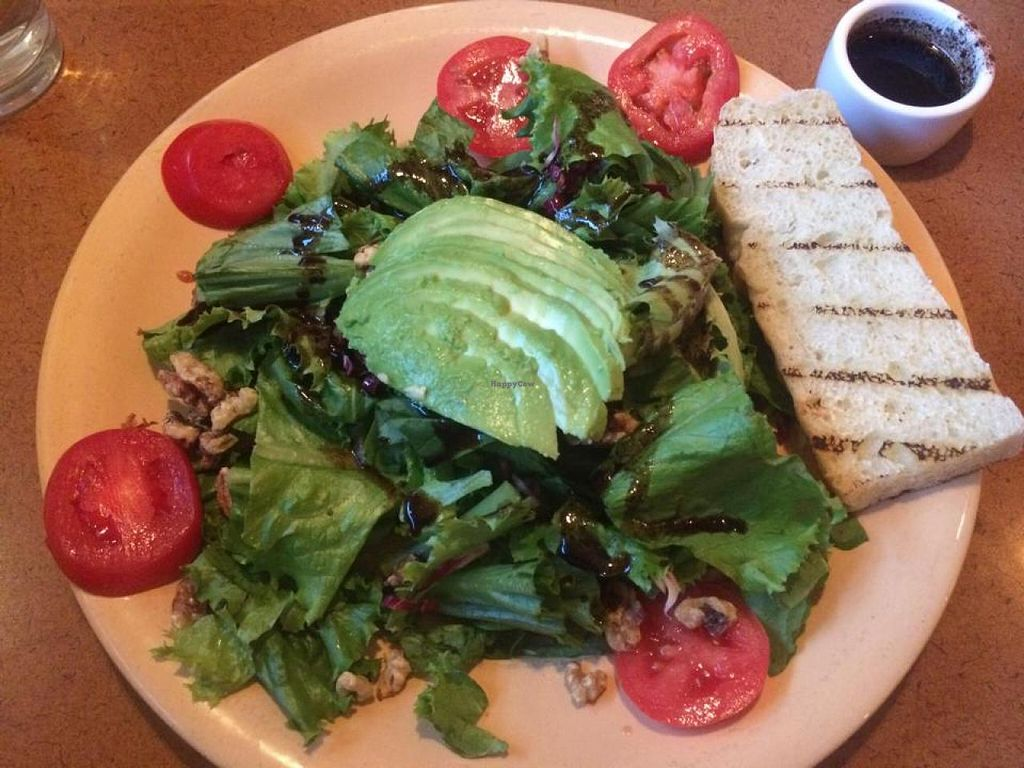 """Photo of Spin Cafe  by <a href=""""/members/profile/Meggie%20and%20Ben"""">Meggie and Ben</a> <br/>Field of dreams salad made vegan <br/> December 31, 2014  - <a href='/contact/abuse/image/50410/89150'>Report</a>"""