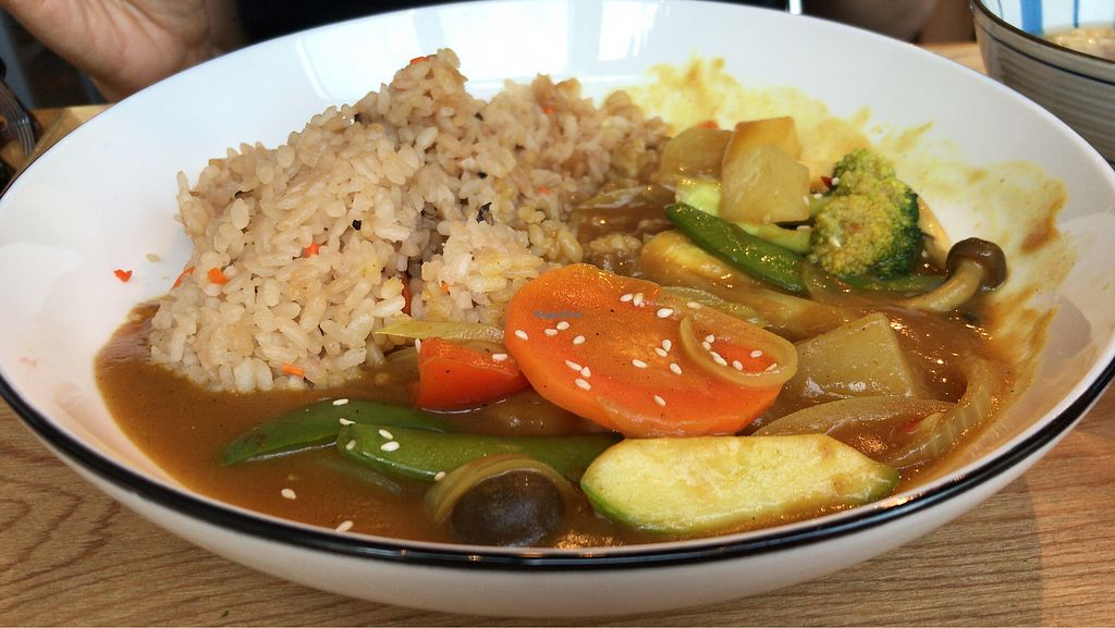 "Photo of MUM Veggie Cafe  by <a href=""/members/profile/netgila"">netgila</a> <br/>Veggie Curry Rice <br/> October 31, 2017  - <a href='/contact/abuse/image/50422/320331'>Report</a>"