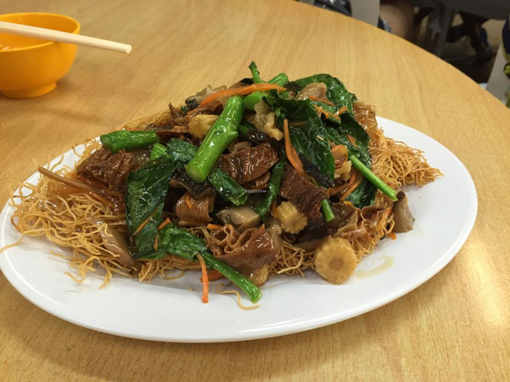 "Photo of CLOSED: Fat Yau Yuen Vegetarian  by <a href=""/members/profile/htenbos"">htenbos</a> <br/>Fried noodle <br/> July 10, 2015  - <a href='/contact/abuse/image/50424/108840'>Report</a>"