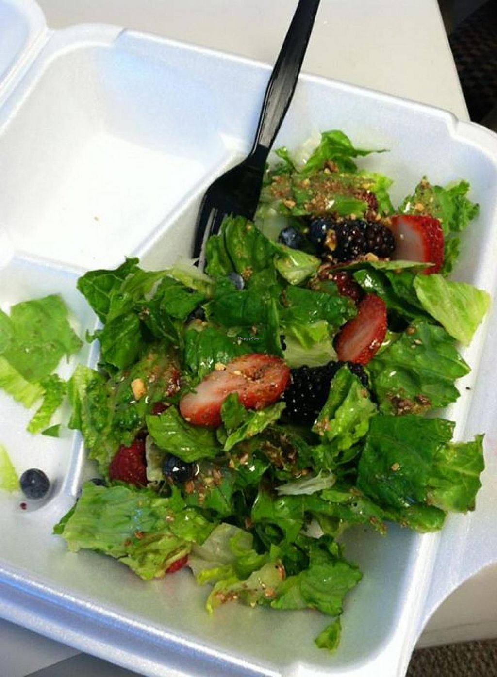 """Photo of Cafe Zupas  by <a href=""""/members/profile/Meggie%20and%20Ben"""">Meggie and Ben</a> <br/>Berry salad <br/> August 22, 2014  - <a href='/contact/abuse/image/50457/77915'>Report</a>"""