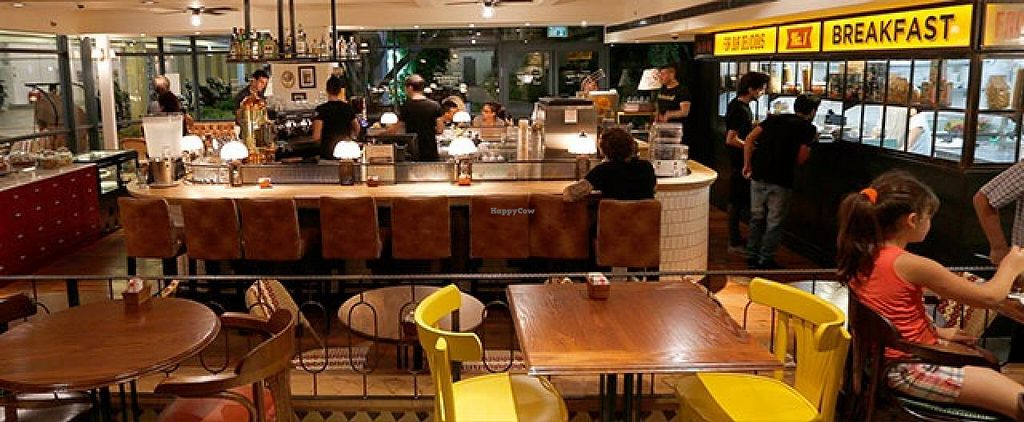 """Photo of Cafe Landwer - Kikar HaBima  by <a href=""""/members/profile/Brok%20O.%20Lee"""">Brok O. Lee</a> <br/>Interior <br/> February 11, 2015  - <a href='/contact/abuse/image/50475/92841'>Report</a>"""