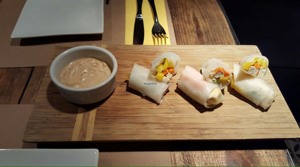 """Photo of Bi Nevi Deli  by <a href=""""/members/profile/lunapavo"""">lunapavo</a> <br/>summer rolls <br/> August 26, 2015  - <a href='/contact/abuse/image/50484/115325'>Report</a>"""