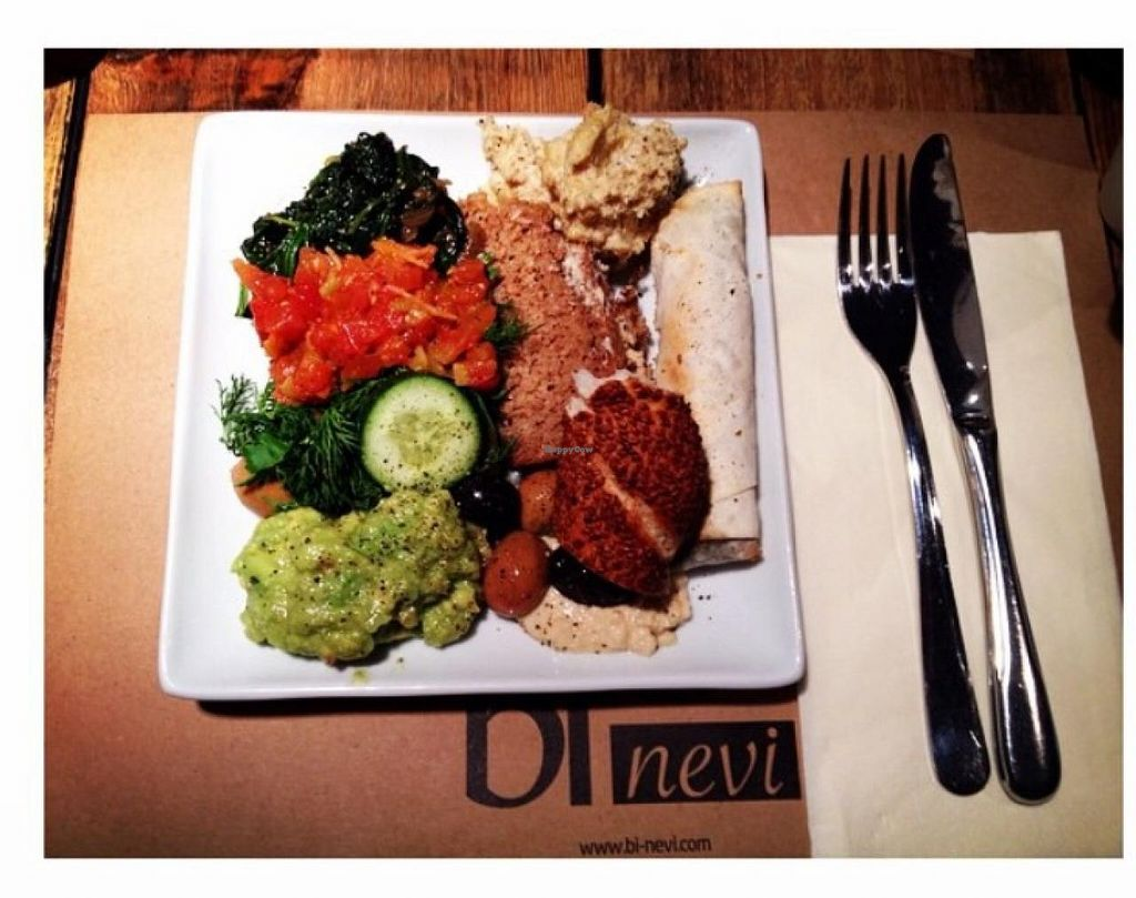 """Photo of Bi Nevi Deli  by <a href=""""/members/profile/Esen%20Boya"""">Esen Boya</a> <br/>Sunday brunch at Bi Nevi. The homemade vegan walnut spinach 'borek' was a hit with all my friends.  <br/> January 12, 2015  - <a href='/contact/abuse/image/50484/90216'>Report</a>"""