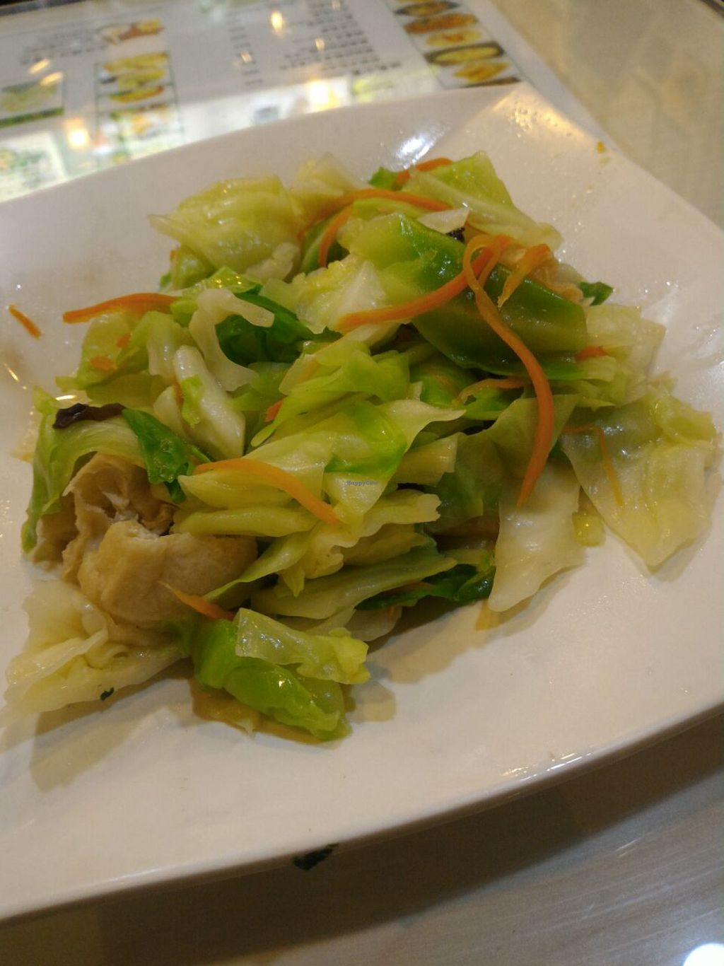 "Photo of Jane Bean Juice - Wanchai  by <a href=""/members/profile/ouikouik"">ouikouik</a> <br/>fried cabbage with ginger 薑汁炒椰菜 <br/> July 30, 2015  - <a href='/contact/abuse/image/50486/111612'>Report</a>"