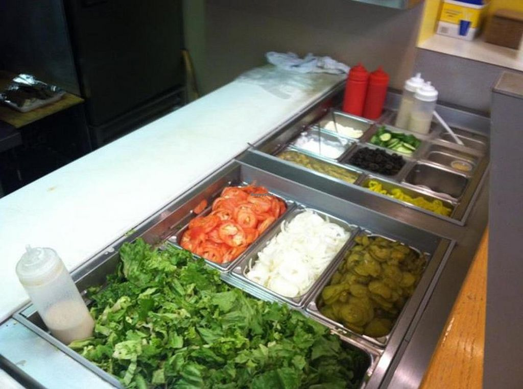 """Photo of Pauly's Pockets  by <a href=""""/members/profile/community"""">community</a> <br/>veggie toppings <br/> September 26, 2014  - <a href='/contact/abuse/image/50487/81101'>Report</a>"""