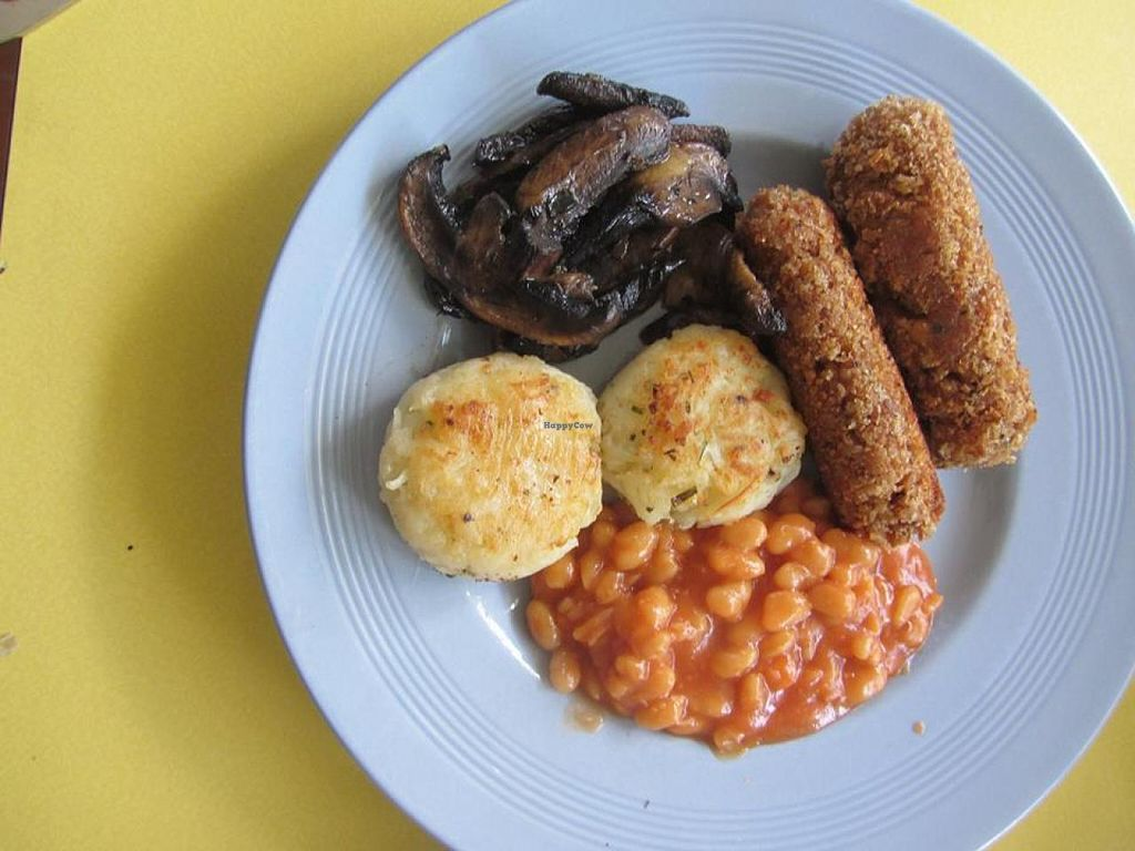 "Photo of The Control Tower  by <a href=""/members/profile/Caryne"">Caryne</a> <br/>Vegan Cooked Breakfast <br/> August 23, 2014  - <a href='/contact/abuse/image/50489/78043'>Report</a>"