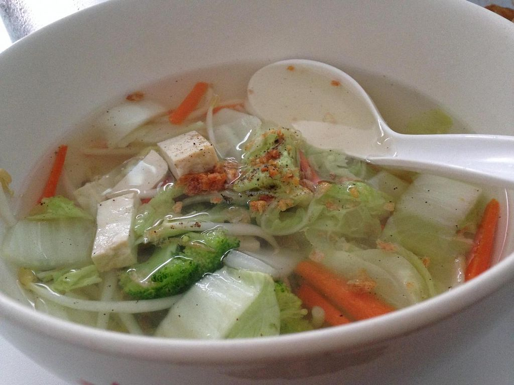 """Photo of Srifaa's  by <a href=""""/members/profile/Keren-Or"""">Keren-Or</a> <br/>clear noodle soup: you might want to add some more tastes.  <br/> August 22, 2014  - <a href='/contact/abuse/image/50509/77912'>Report</a>"""