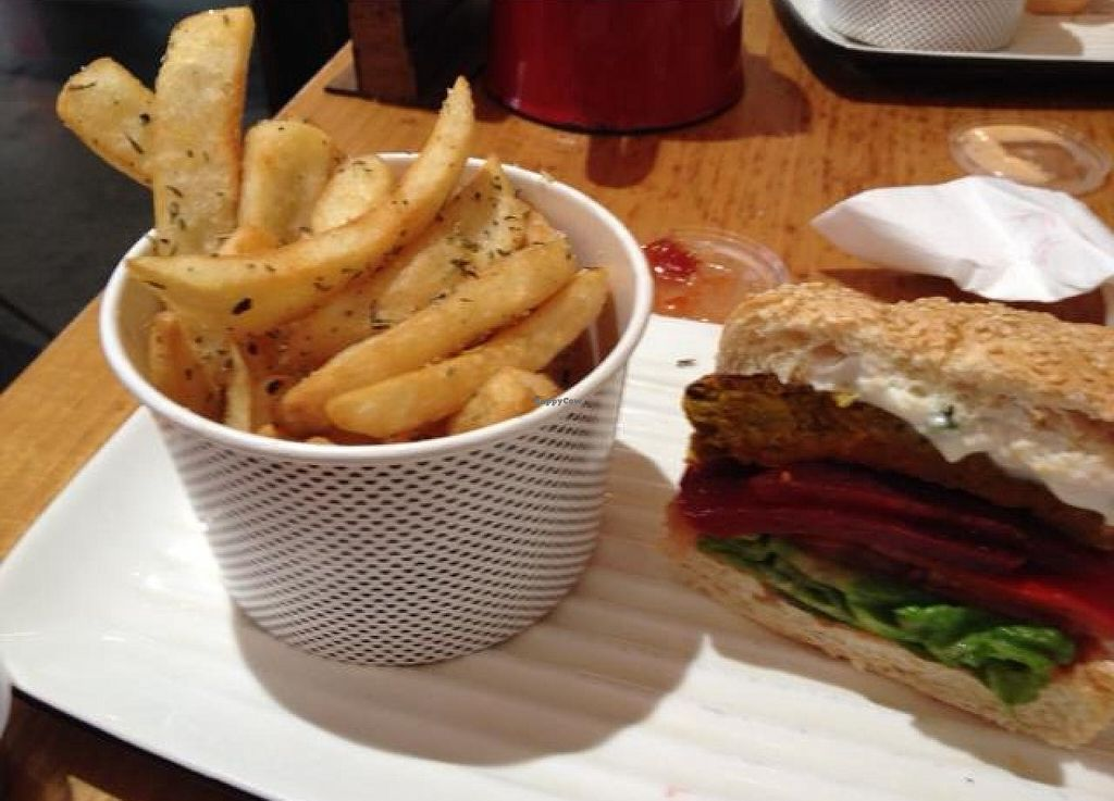 """Photo of Grill'd  by <a href=""""/members/profile/Buddy45"""">Buddy45</a> <br/>Rosemary chips to die for!! <br/> August 20, 2014  - <a href='/contact/abuse/image/50513/77648'>Report</a>"""