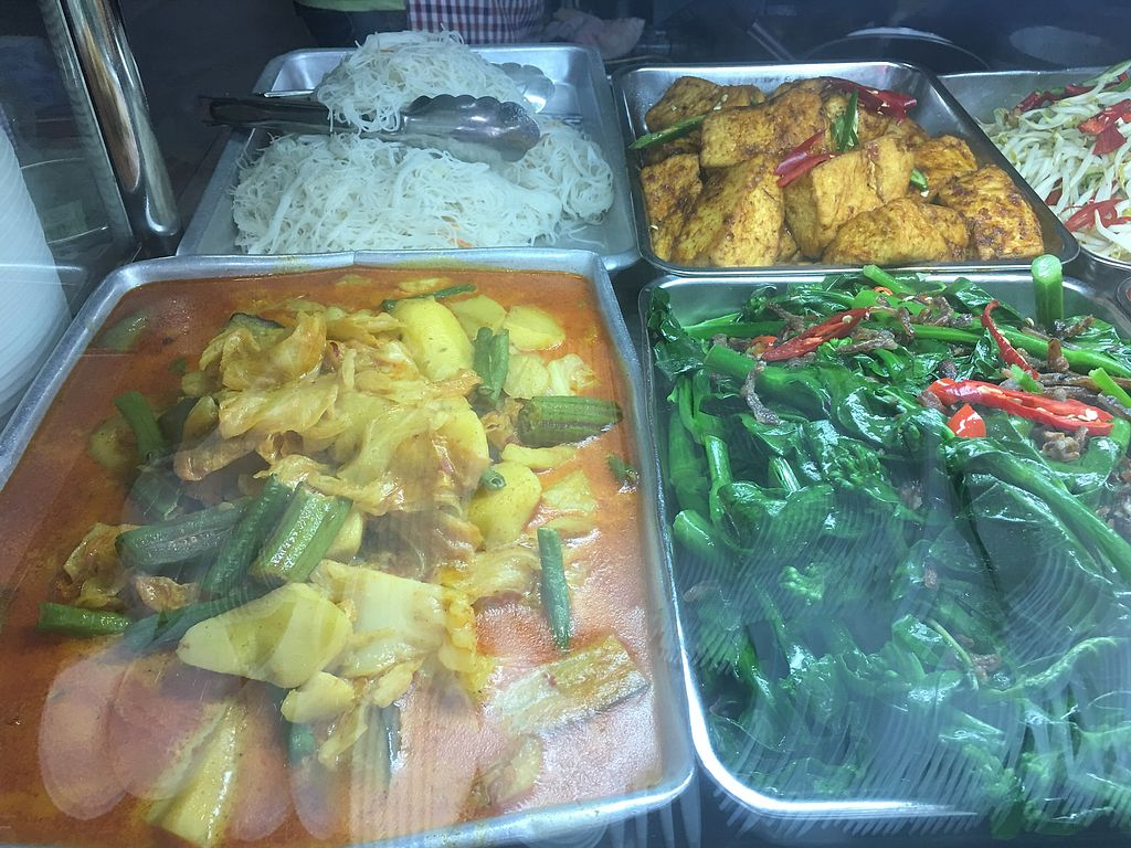 """Photo of Jia Xiang Vegetarian Food  by <a href=""""/members/profile/BernardKoh"""">BernardKoh</a> <br/>Assorted Vegetarian Selection <br/> February 26, 2018  - <a href='/contact/abuse/image/50528/363962'>Report</a>"""