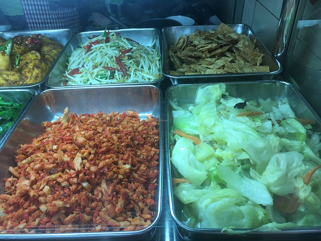 """Photo of Jia Xiang Vegetarian Food  by <a href=""""/members/profile/BernardKoh"""">BernardKoh</a> <br/>Assorted Vegetarian Selection <br/> February 26, 2018  - <a href='/contact/abuse/image/50528/363963'>Report</a>"""