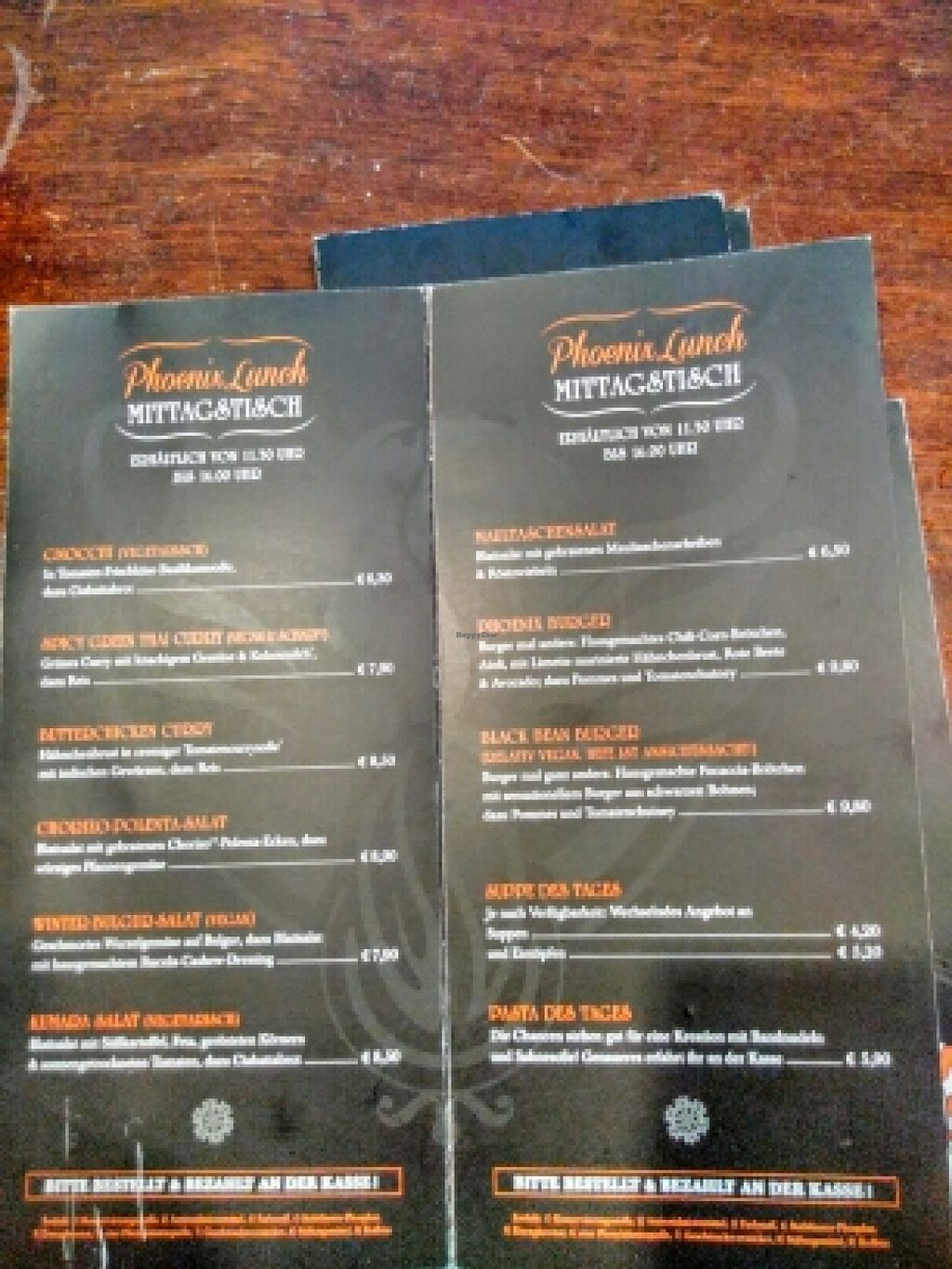 """Photo of Phoenix Coffee  by <a href=""""/members/profile/manfredwiesel"""">manfredwiesel</a> <br/>menu  <br/> March 9, 2016  - <a href='/contact/abuse/image/50533/139381'>Report</a>"""