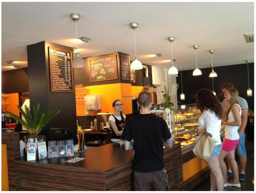 """Photo of Phoenix Coffee  by <a href=""""/members/profile/SandraPauly"""">SandraPauly</a> <br/>Phoenix Coffee Bruchsal, renovated self-service counter and checkpoint <br/> September 1, 2014  - <a href='/contact/abuse/image/50533/78784'>Report</a>"""