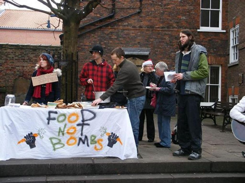 "Photo of Food Not Bombs  by <a href=""/members/profile/community"">community</a> <br/>Food Not Bombs York <br/> August 19, 2014  - <a href='/contact/abuse/image/50534/77490'>Report</a>"
