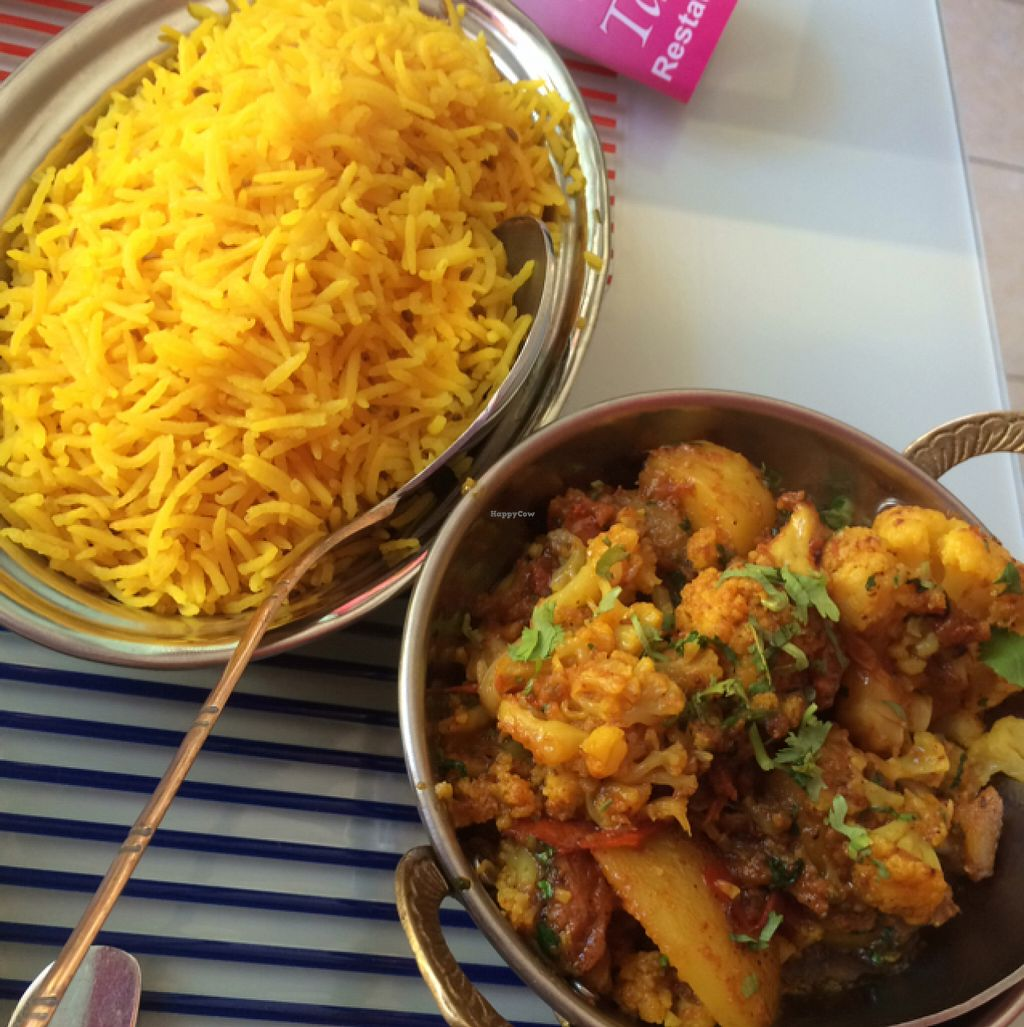 """Photo of Tamarind  by <a href=""""/members/profile/EmmaYates"""">EmmaYates</a> <br/>potato and cauliflower curry <br/> July 10, 2016  - <a href='/contact/abuse/image/50547/158917'>Report</a>"""