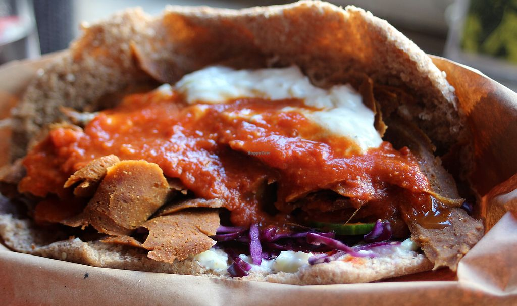 """Photo of Beelzebab at The Hope & Ruin  by <a href=""""/members/profile/kezia"""">kezia</a> <br/>Seitan Kebab  <br/> March 27, 2018  - <a href='/contact/abuse/image/50556/376743'>Report</a>"""