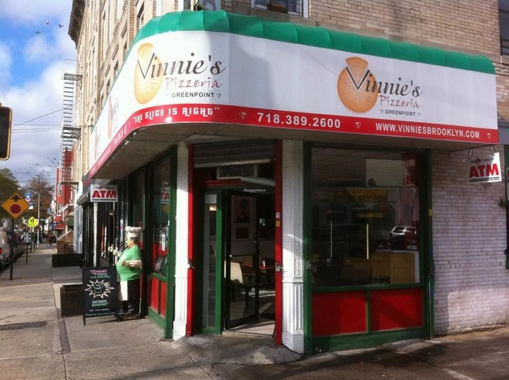 """Photo of Vinnie's Pizzeria - Greenpoint  by <a href=""""/members/profile/community"""">community</a> <br/>Vinnie's Pizzeria - Greenpoint  <br/> April 27, 2015  - <a href='/contact/abuse/image/50561/100437'>Report</a>"""