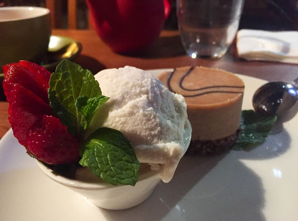 "Photo of Vegilicious  by <a href=""/members/profile/karlaess"">karlaess</a> <br/>Raw mudslide cake & Vegan icecream <br/> September 20, 2015  - <a href='/contact/abuse/image/50570/118580'>Report</a>"