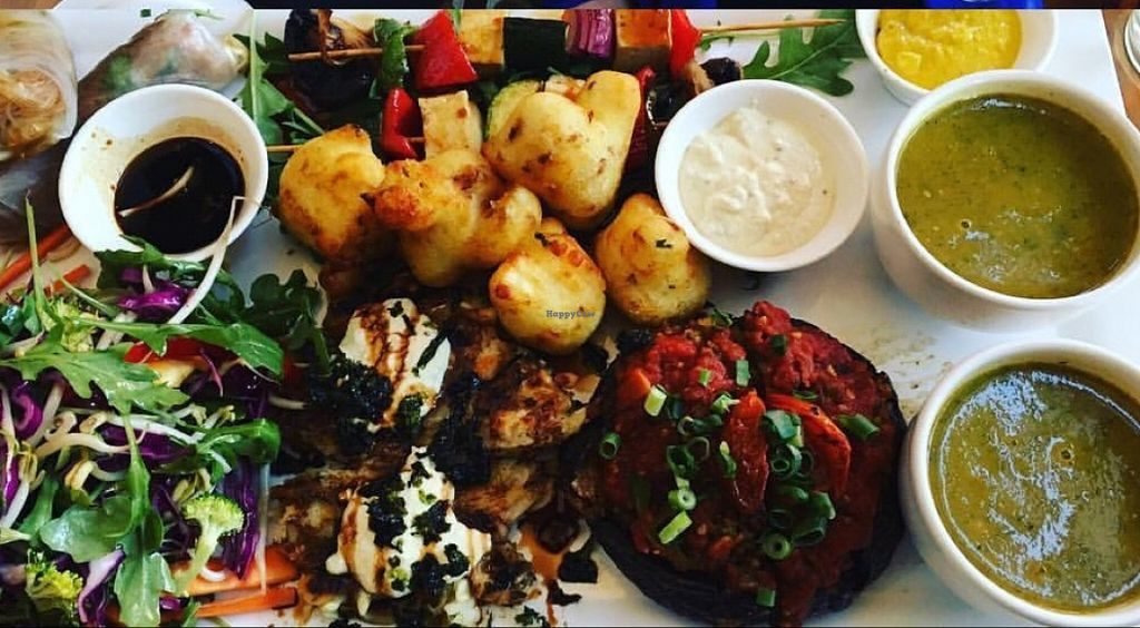 Photo of Vegilicious  by Daynamorphic <br/>vegan platter <br/> February 27, 2016  - <a href='/contact/abuse/image/50570/137942'>Report</a>