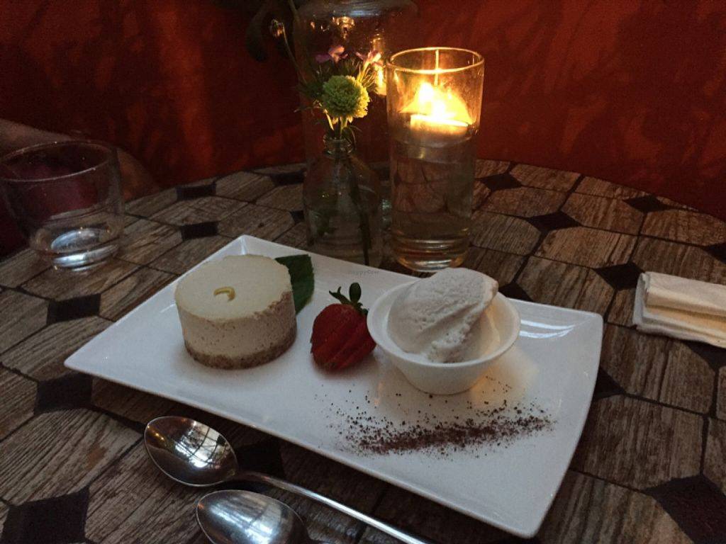 "Photo of Vegilicious  by <a href=""/members/profile/TarshaChristie"">TarshaChristie</a> <br/>lemon cheesecake with coconut ice cream <br/> April 1, 2016  - <a href='/contact/abuse/image/50570/142277'>Report</a>"
