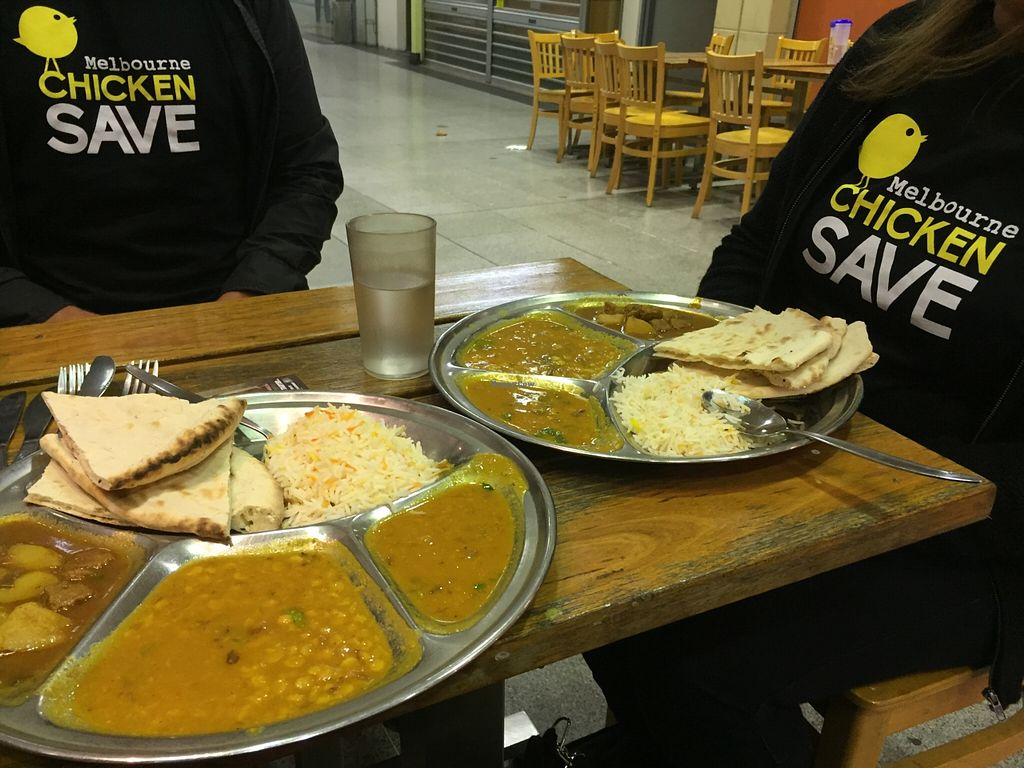 """Photo of Om Vegetarian - Capitol Arcade  by <a href=""""/members/profile/karlaess"""">karlaess</a> <br/>Thalis all round! <br/> March 29, 2016  - <a href='/contact/abuse/image/50591/141714'>Report</a>"""