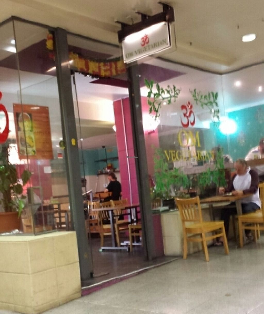 """Photo of Om Vegetarian - Capitol Arcade  by <a href=""""/members/profile/Aloo"""">Aloo</a> <br/>Photo from sitting at one of the tables in the arcade.  <br/> November 11, 2015  - <a href='/contact/abuse/image/50591/260067'>Report</a>"""